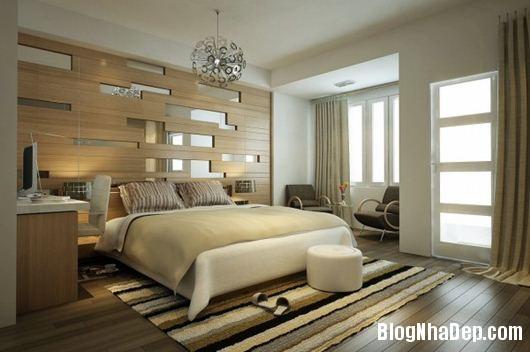 Modern Bedroom 3 600x398 Những phòng ngủ gam màu trung tính