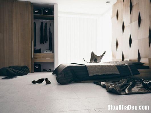 Modern Bedroom 5 600x448 Những phòng ngủ gam màu trung tính