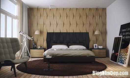 Modern Bedroom 6 600x359 Những phòng ngủ gam màu trung tính