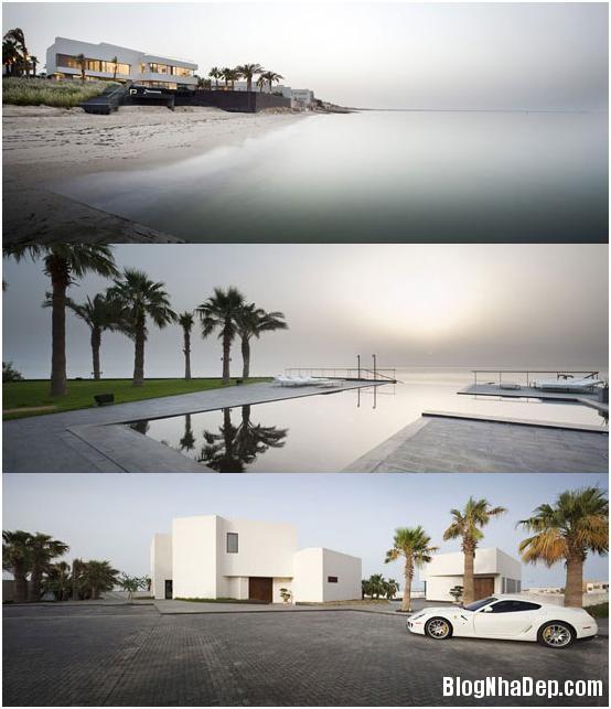 beachhouse21 Ngắm ngôi nhà sang trọng bên bờ biển Kuwait