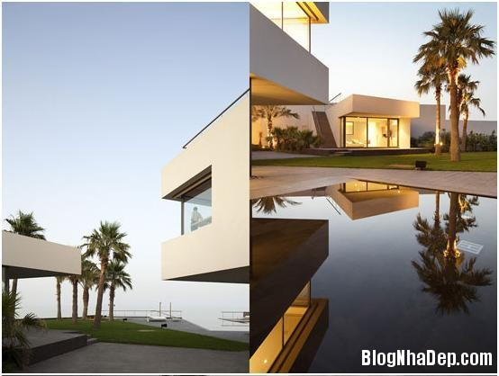 beachhouse31 Ngắm ngôi nhà sang trọng bên bờ biển Kuwait