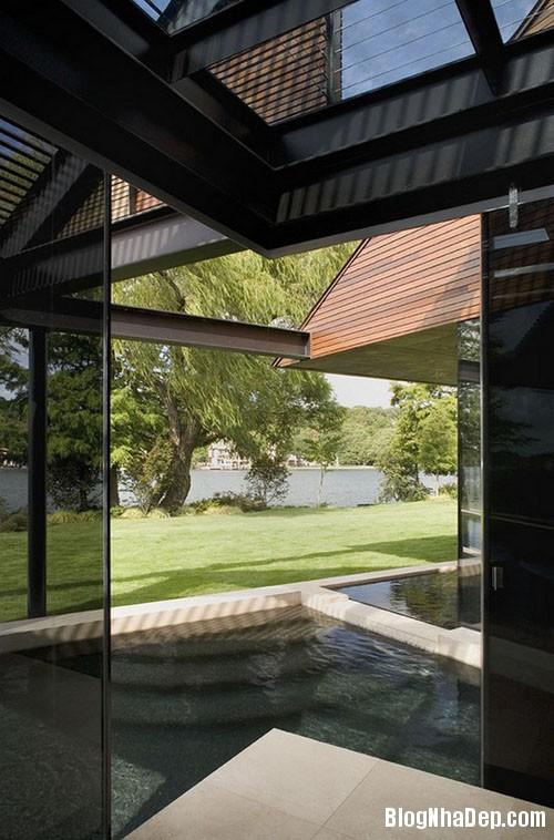 benho5 Biệt thự cổ điển bên bờ hồ Austin, Texas, Mỹ