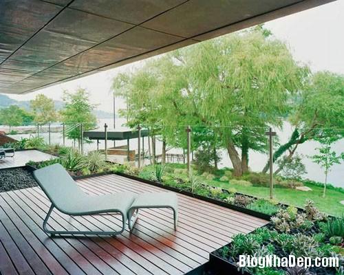 benho8 Biệt thự cổ điển bên bờ hồ Austin, Texas, Mỹ
