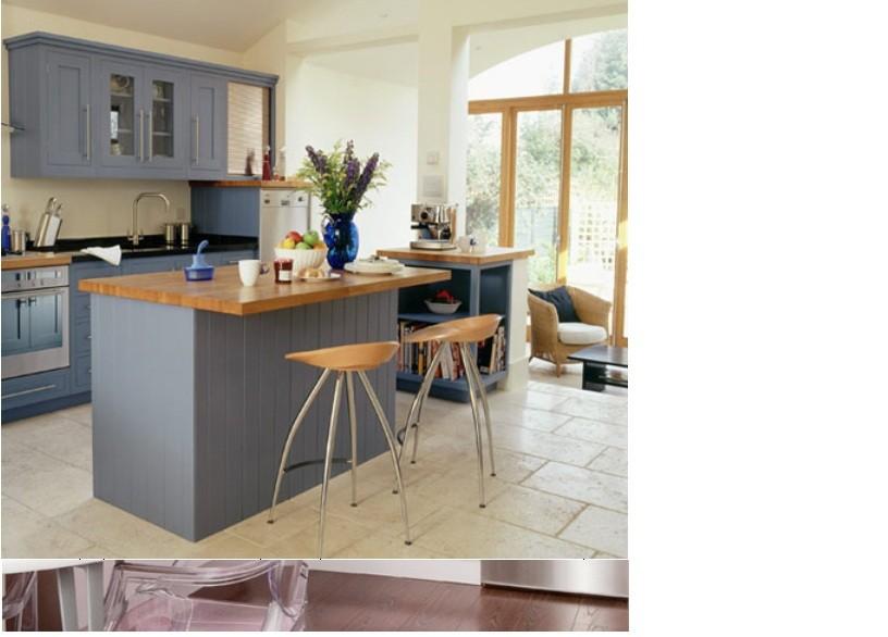 bep5 Tạo không gian ấm cúng trong căn bếp nhỏ