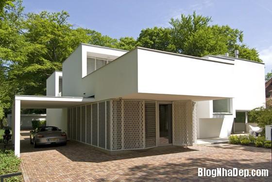 biet thu ha lan1 Biệt thự với cảnh quan tuyệt đẹp ở Hà Lan