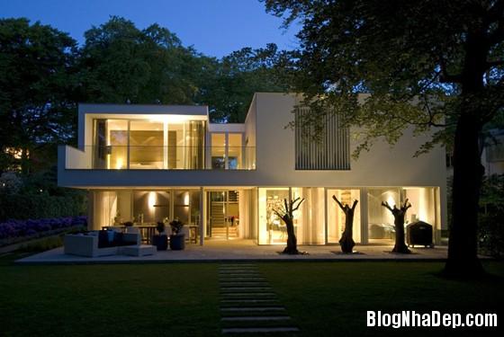 biet thu ha lan4 Biệt thự với cảnh quan tuyệt đẹp ở Hà Lan
