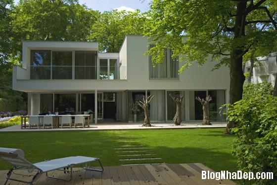 biet thu ha lan5 Biệt thự với cảnh quan tuyệt đẹp ở Hà Lan