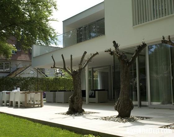 biet thu ha lan7 Biệt thự với cảnh quan tuyệt đẹp ở Hà Lan
