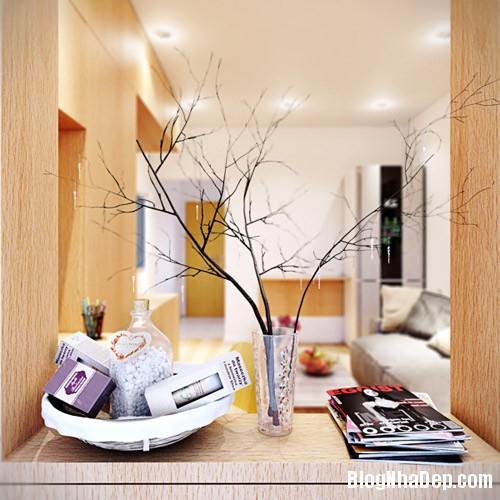 bo tri nha chat van dep 7 Khéo léo bài trí nội thất cho nhà chật