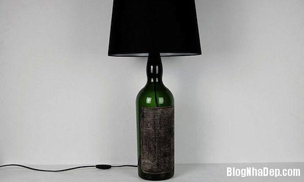 bottle 5 1401374931 Khéo tay tận dụng chai lọ cũ làm đồ trang trí