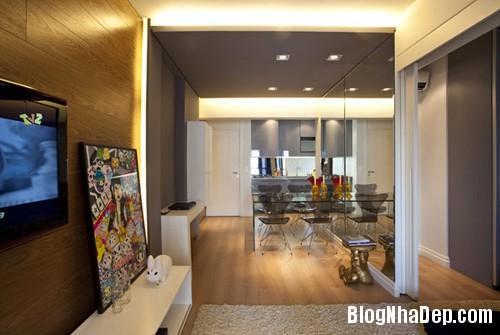 can ho 45 m2 10 Tối ưu hóa không gian sống trong căn hộ 45m2
