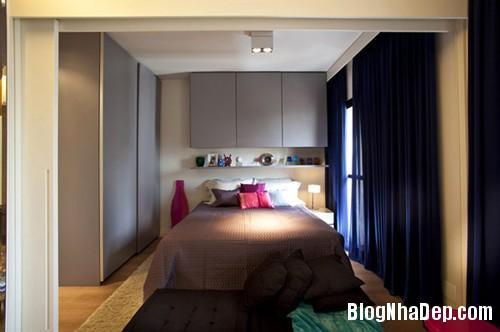 can ho 45 m2 12 Tối ưu hóa không gian sống trong căn hộ 45m2