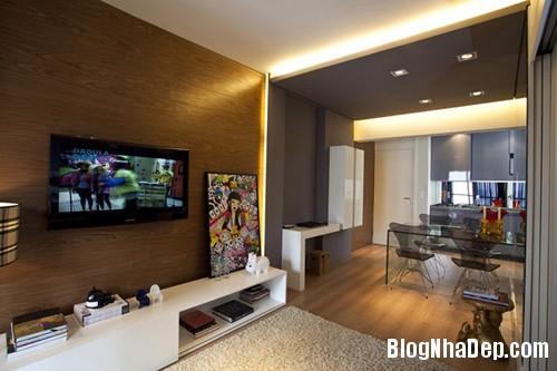 can ho 45 m2 2 Tối ưu hóa không gian sống trong căn hộ 45m2