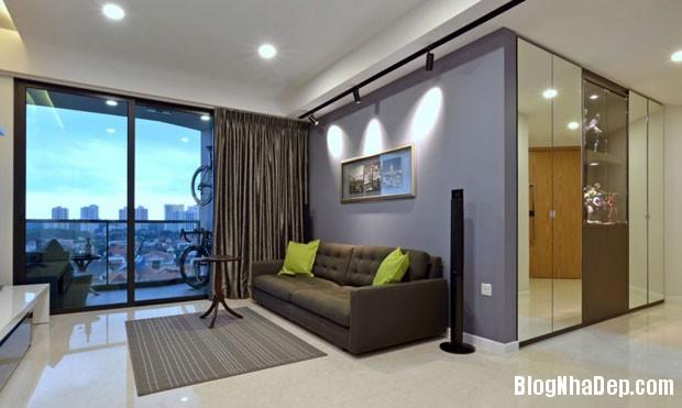 can ho dep tai Singapore 11 Ngắm căn hộ hiện đại với nội thất tinh tế  ở Singapore