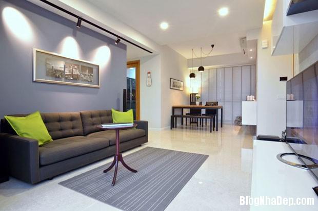 can ho dep tai Singapore 31 Ngắm căn hộ hiện đại với nội thất tinh tế  ở Singapore