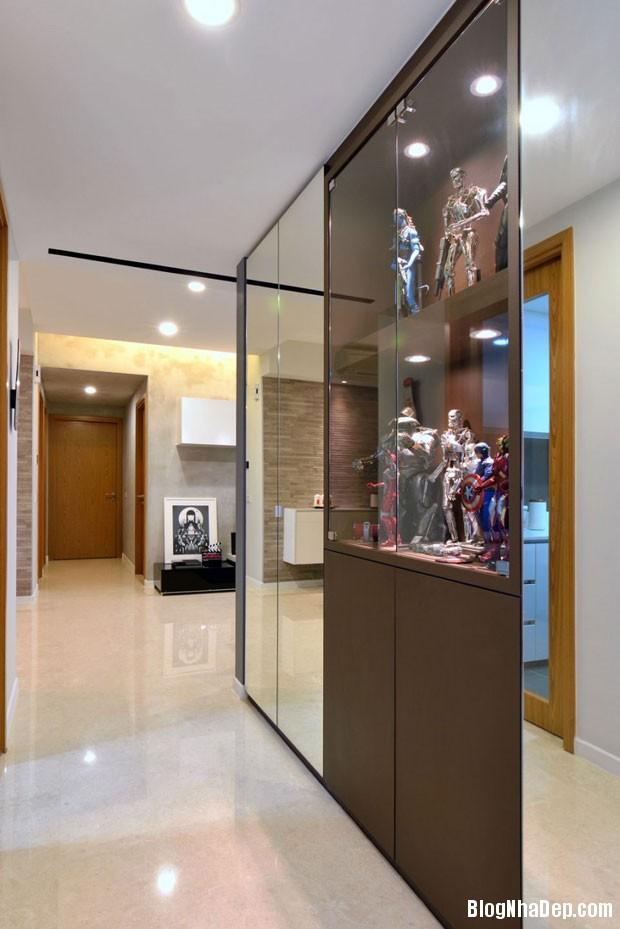 can ho dep tai Singapore 71 Ngắm căn hộ hiện đại với nội thất tinh tế  ở Singapore