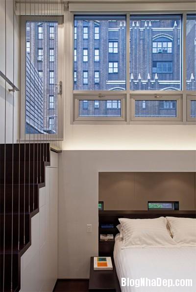 can ho 40 m2 lot xac sau khi cai tao 10 Lột xác cho căn hộ cũ kỹ 40m2 ở New York