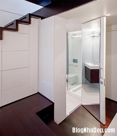 can ho 40 m2 lot xac sau khi cai tao 7 Lột xác cho căn hộ cũ kỹ 40m2 ở New York