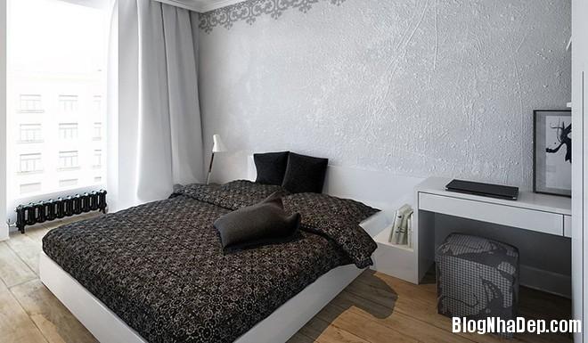 can ho 50 m2 voi hai tong mau den trang 5 Căn nhà ấm cúng ở Ba Lan