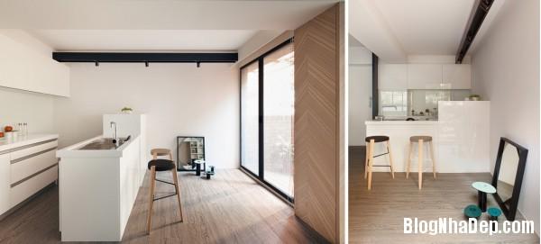 canho nho gon9 Kết hợp không gian trong nhà nhỏ