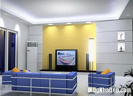chieusangphongkhach5 Ánh sáng lung linh cho phòng khách