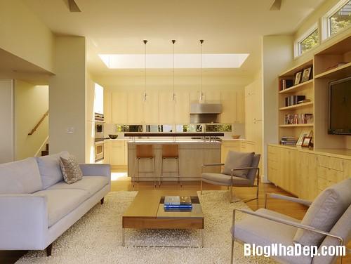 family room 4 1403797521 Những gợi ý trang trí nội thất cho nhà ống hiện đại