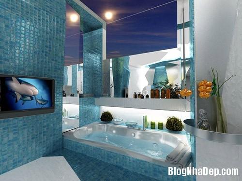 file.354770 Phá cách với màu sắc cho phòng tắm