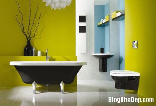 file.354775 Phá cách với màu sắc cho phòng tắm