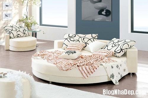 giuong tron4  Sự quyến rũ của những chiếc giường tròn