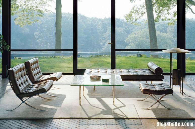 glass house 7 Say mê với kiến trúc nhà kính của Glass House