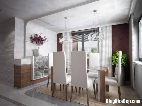 hinh 6 ban an doc dao Mẫu căn hộ chung cư đẹp ở Slovakia