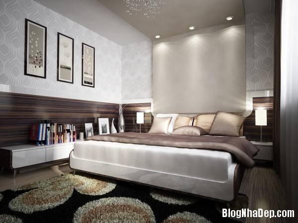hinh 9 phong ngu am cung Mẫu căn hộ chung cư đẹp ở Slovakia