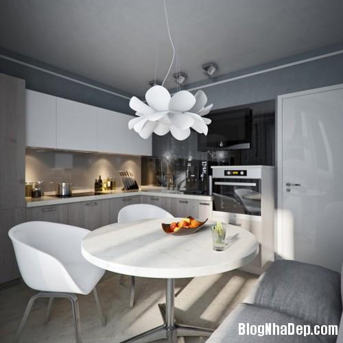 hut mat vao 48m coi mo tinh te 11 Cảm hứng sáng tạo trong thiết kế căn hộ 48m2