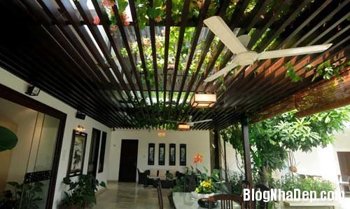 khoe nha vuon an minh sau pho thi 7 Ngắm ngôi nhà vườn mang đậm phong cách Á Đông