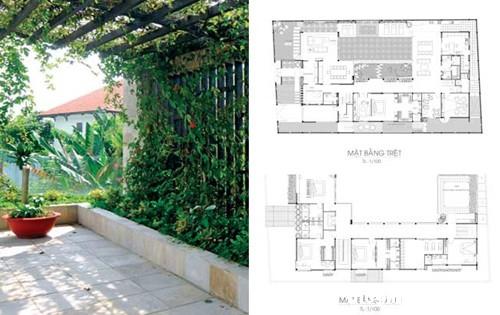khoe nha vuon an minh sau pho thi 8 Ngắm ngôi nhà vườn mang đậm phong cách Á Đông