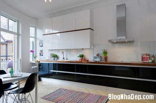 khong gian bep dep 11 Mẫu phòng bếp đẹp thiết kế theo phong cách Scandinavian