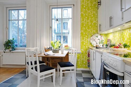khong gian bep dep 12 Mẫu phòng bếp đẹp thiết kế theo phong cách Scandinavian