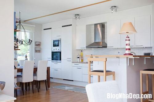 khong gian bep dep 13 Mẫu phòng bếp đẹp thiết kế theo phong cách Scandinavian