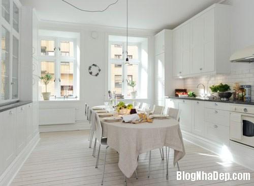 khong gian bep dep 2 Mẫu phòng bếp đẹp thiết kế theo phong cách Scandinavian