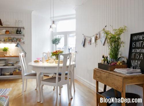 khong gian bep dep 4 Mẫu phòng bếp đẹp thiết kế theo phong cách Scandinavian