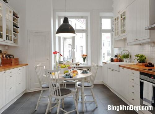 khong gian bep dep 5 Mẫu phòng bếp đẹp thiết kế theo phong cách Scandinavian