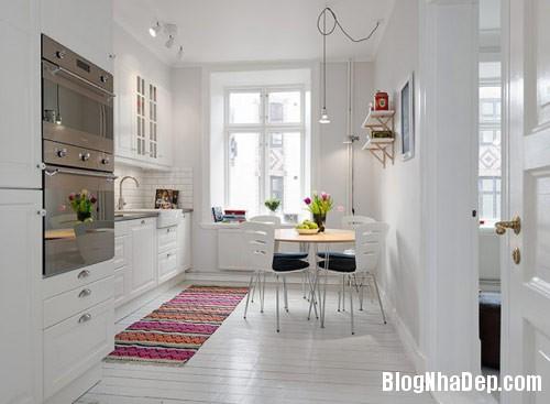 khong gian bep dep 6 Mẫu phòng bếp đẹp thiết kế theo phong cách Scandinavian