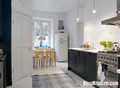 khong gian bep dep 7 Mẫu phòng bếp đẹp thiết kế theo phong cách Scandinavian
