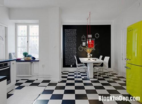 khong gian bep dep 8 Mẫu phòng bếp đẹp thiết kế theo phong cách Scandinavian