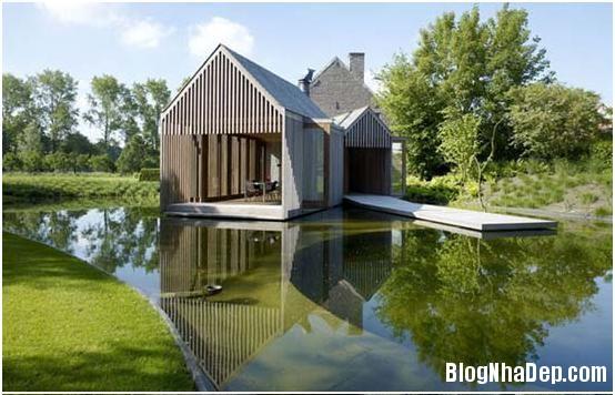 lakehouse5 Ngôi nhà gỗ tuyệt đẹp bên bờ hồ