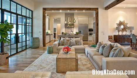 livingroom 1 1403017681 Không gian liên thông giữa nhà bếp và phòng khách