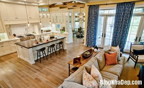 livingroom 5 1403017780 Không gian liên thông giữa nhà bếp và phòng khách