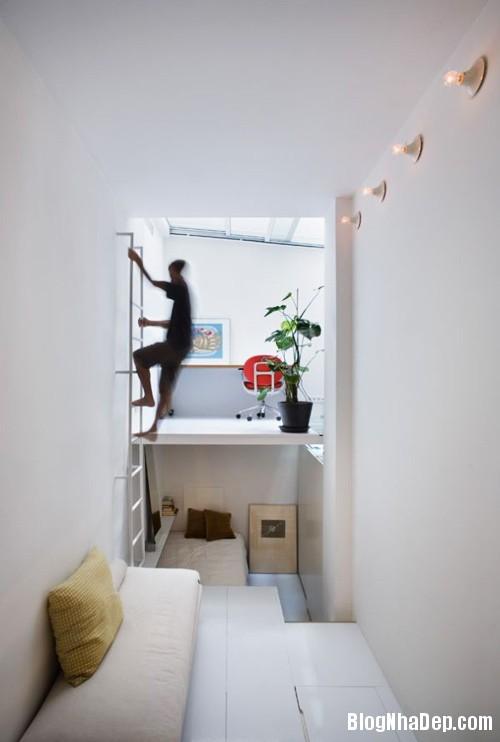 nha chat 21m day tinh te 4 Bài trí cho căn hộ 21m2 dài và hẹp