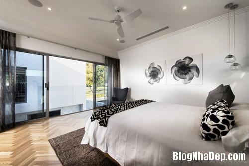 nha gian don ma kieu sa 13 Biệt thự hiện đại với phong cách trang trí đơn giản