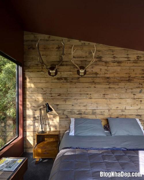 nha khong gian mo thoang 11 Căn nhà với hình dáng giống chiếc container ở New Zeeland